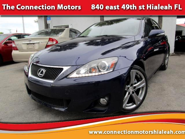 2011 Lexus IS GREAT SELECTION OF HIGH QUALITY VEHICLES AT THE LOWEST PRICE WE FINANCE EVERYBODY C