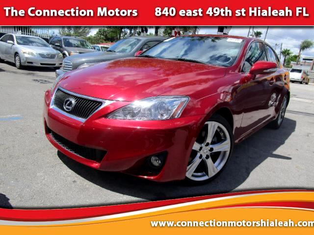 2012 Lexus IS GREAT SELECTION OF HIGH QUALITY VEHICLES AT THE LOWEST PRICE WE FINANCE EVERYBODY C