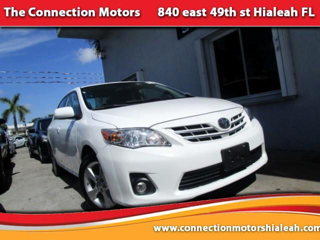 2013 Toyota Corolla GREAT SELECTION OF HIGH QUALITY VEHICLES AT THE LOWEST PRICE WE FINANCE EVERYB