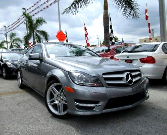 2012 Mercedes C-Class GREAT SELECTION OF HIGH QUALITY VEHICLES AT THE LOWEST PRICE WE FINANCE EVER