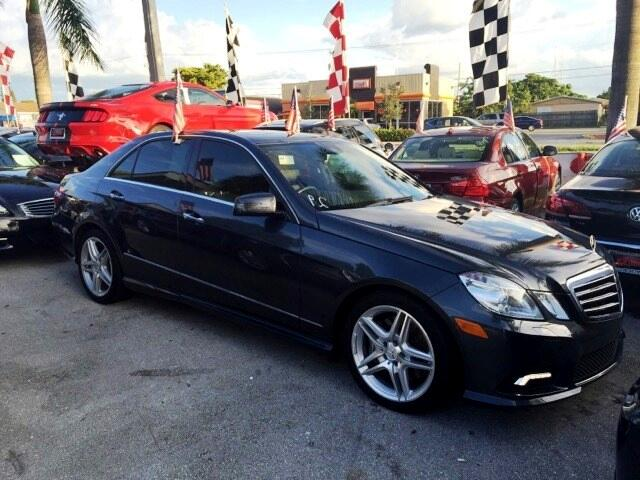 2011 Mercedes E-Class GREAT SELECTION OF HIGH QUALITY VEHICLES AT THE LOWEST PRICE WE FINANCE EVER