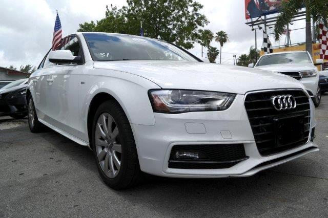 2015 Audi A4 GREAT SELECTION OF HIGH QUALITY VEHICLES AT THE LOWEST PRICE WE FINANCE EVERYBODY CO