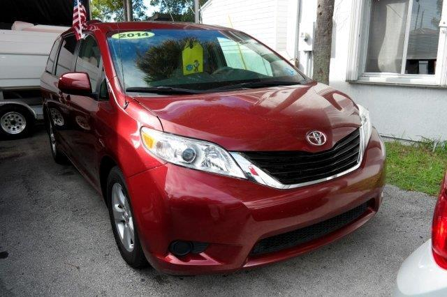 2014 Toyota Sienna GREAT SELECTION OF HIGH QUALITY VEHICLES AT THE LOWEST PRICE WE FINANCE EVERYBO