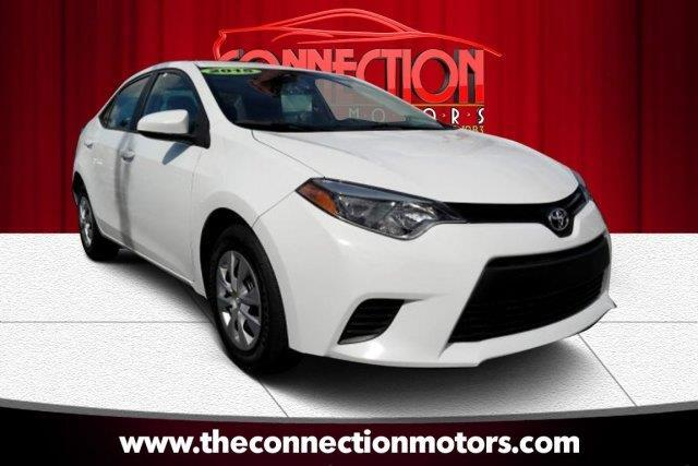 2015 Toyota Corolla GREAT SELECTION OF HIGH QUALITY VEHICLES AT THE LOWEST PRICE WE FINANCE EVERYB
