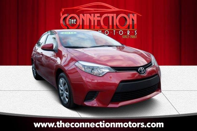2014 Toyota Corolla GREAT SELECTION OF HIGH QUALITY VEHICLES AT THE LOWEST PRICE WE FINANCE EVERYB
