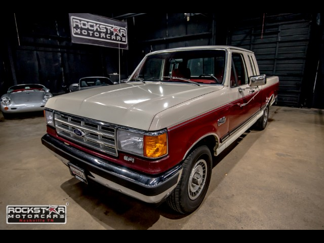 1988 Ford F-150 SuperCab Short Bed 2WD