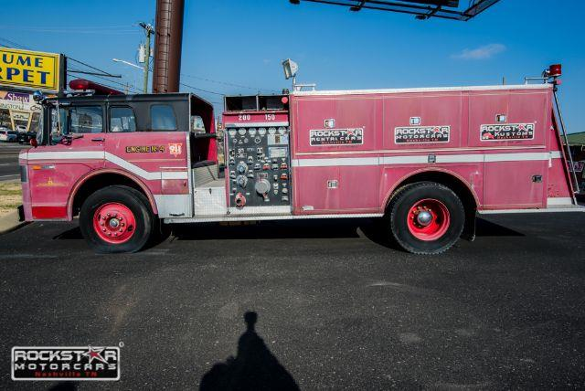 1970 Ford Fire Truck Base