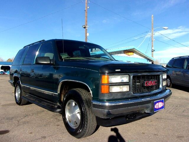 1997 GMC Yukon SLE 4-Door 4WD