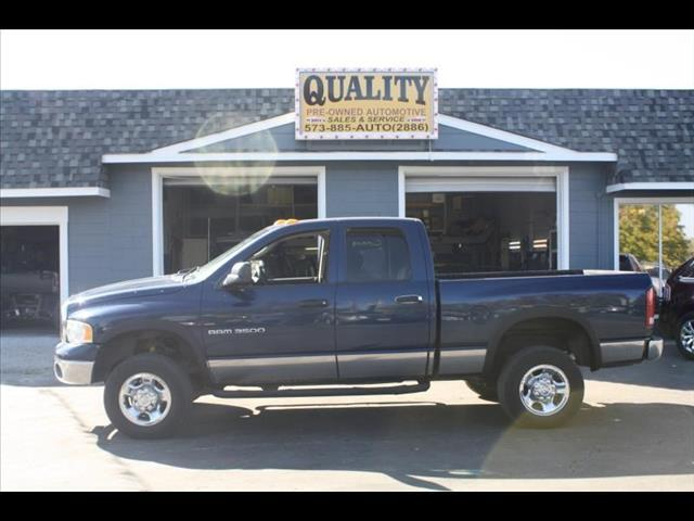 2003 Dodge Ram 3500 ST Quad Cab Long Bed 4WD