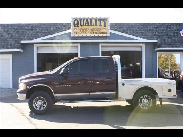 2004 Dodge Ram 2500 Laramie Quad Cab Long Bed 4WD