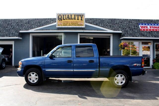 2004 GMC Sierra 1500 Z71 Crew Cab Short Bed 4WD