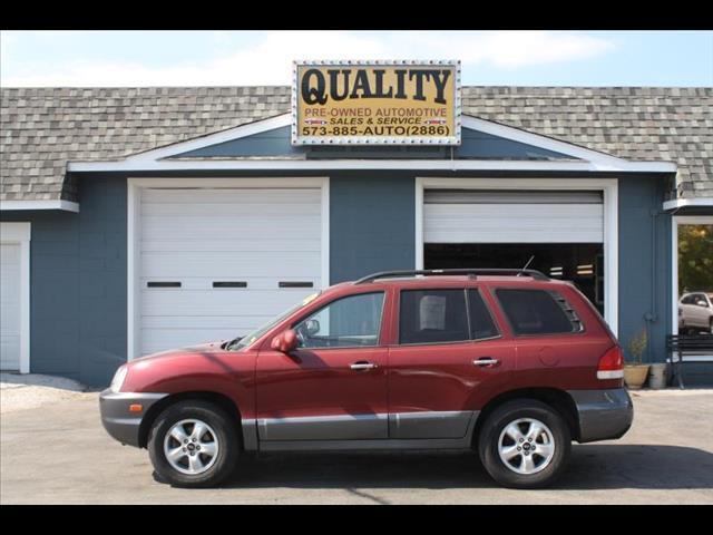 2005 Hyundai Santa Fe LX 4WD