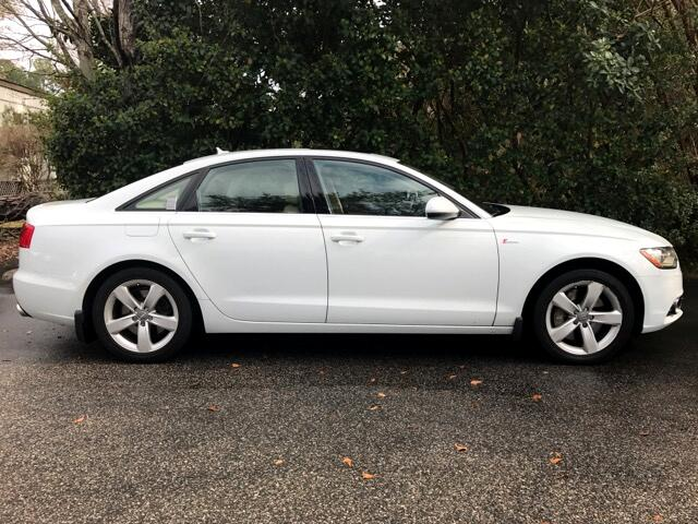 2012 Audi A6 3.0T quattro Tiptronic With Premium Plus Package