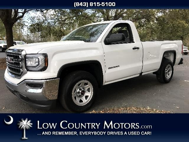 2016 GMC Sierra 1500 Regular Cab With An 8 Foot Bed