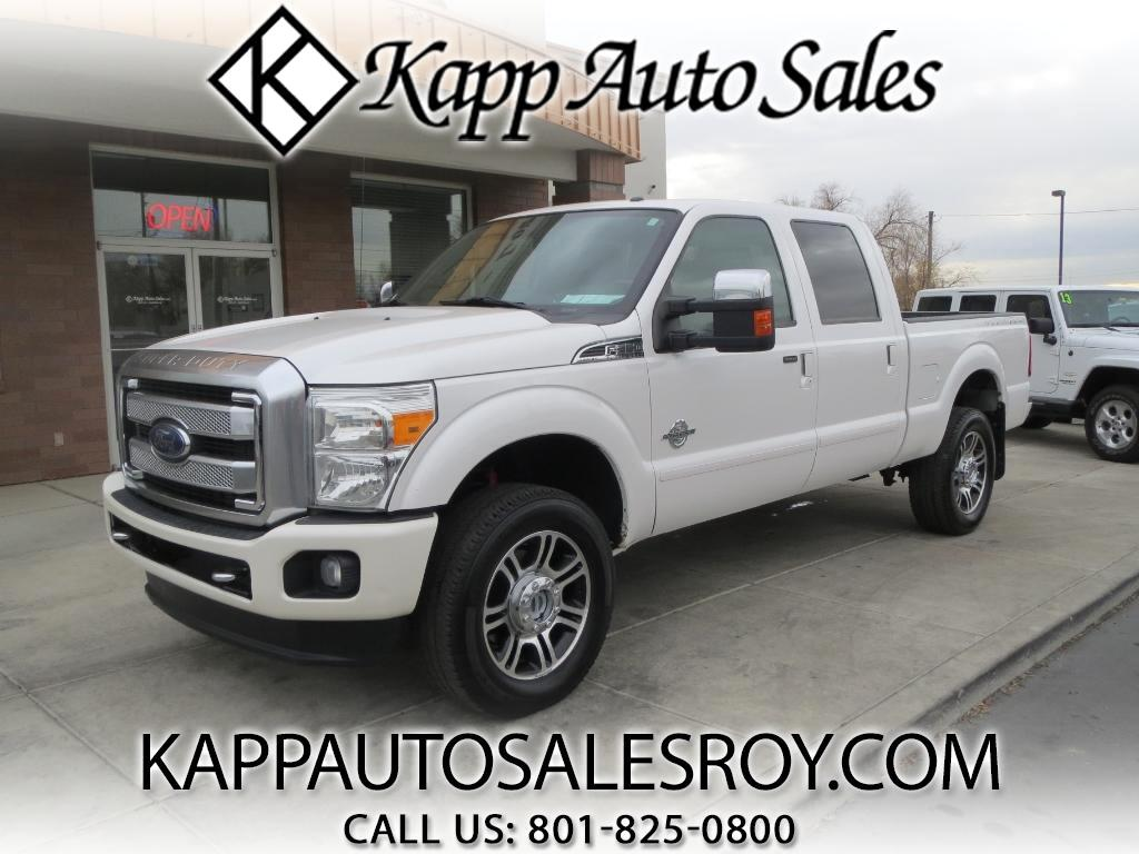 2013 Ford F-350 SD Platinum Crew Cab Short Bed 4WD