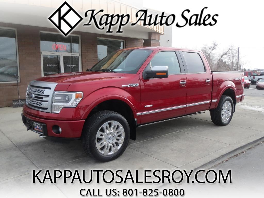 2014 Ford F-150 Platinum SuperCrew 5.5-ft. Bed 4WD