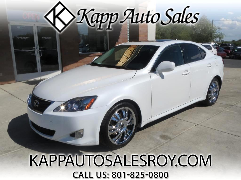 2007 Lexus IS IS 250 6-Speed Automatic
