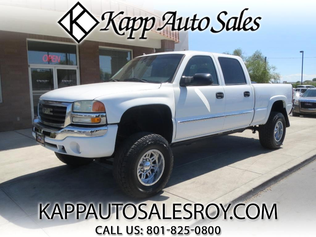 2005 GMC Sierra 1500 HD SLE Crew Cab Short Bed 4WD