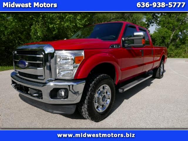 2013 Ford Super Duty F-250 SRW XL 4WD Crew Cab 8' Box
