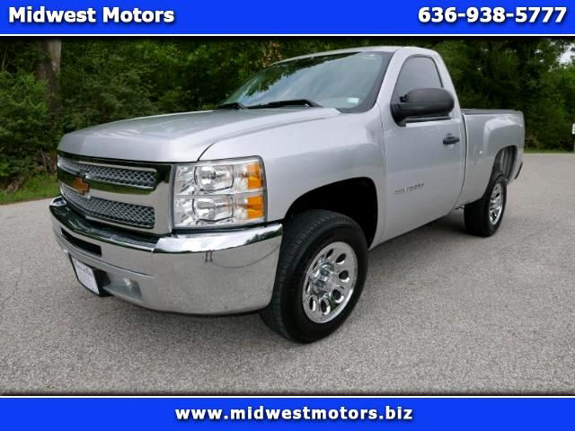 2012 Chevrolet Silverado 1500 Short Bed 2WD