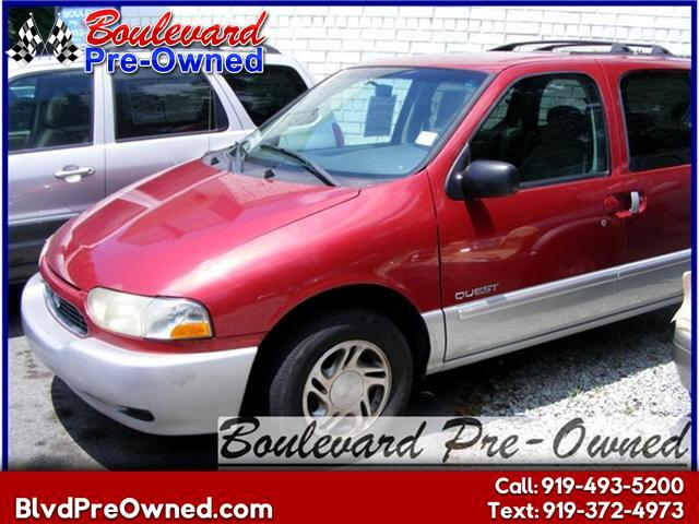 2000 Nissan Quest SE-Leather
