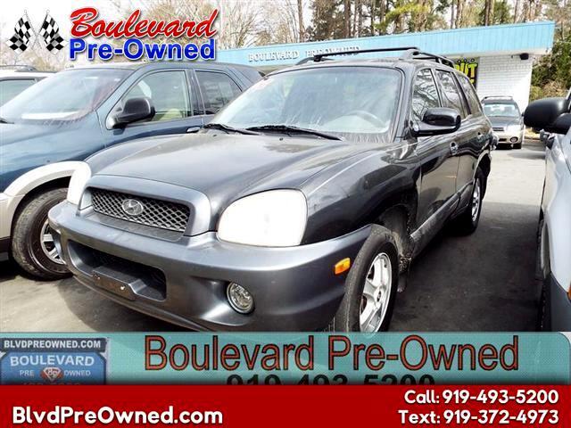 2002 Hyundai Santa Fe LX 4WD