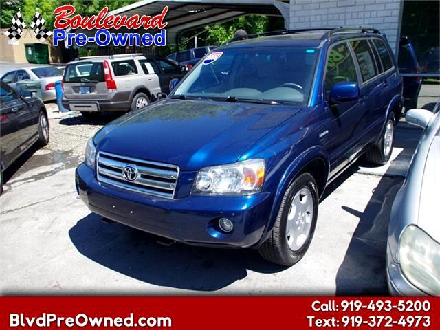 2006 Toyota Highlander Limited 4WD