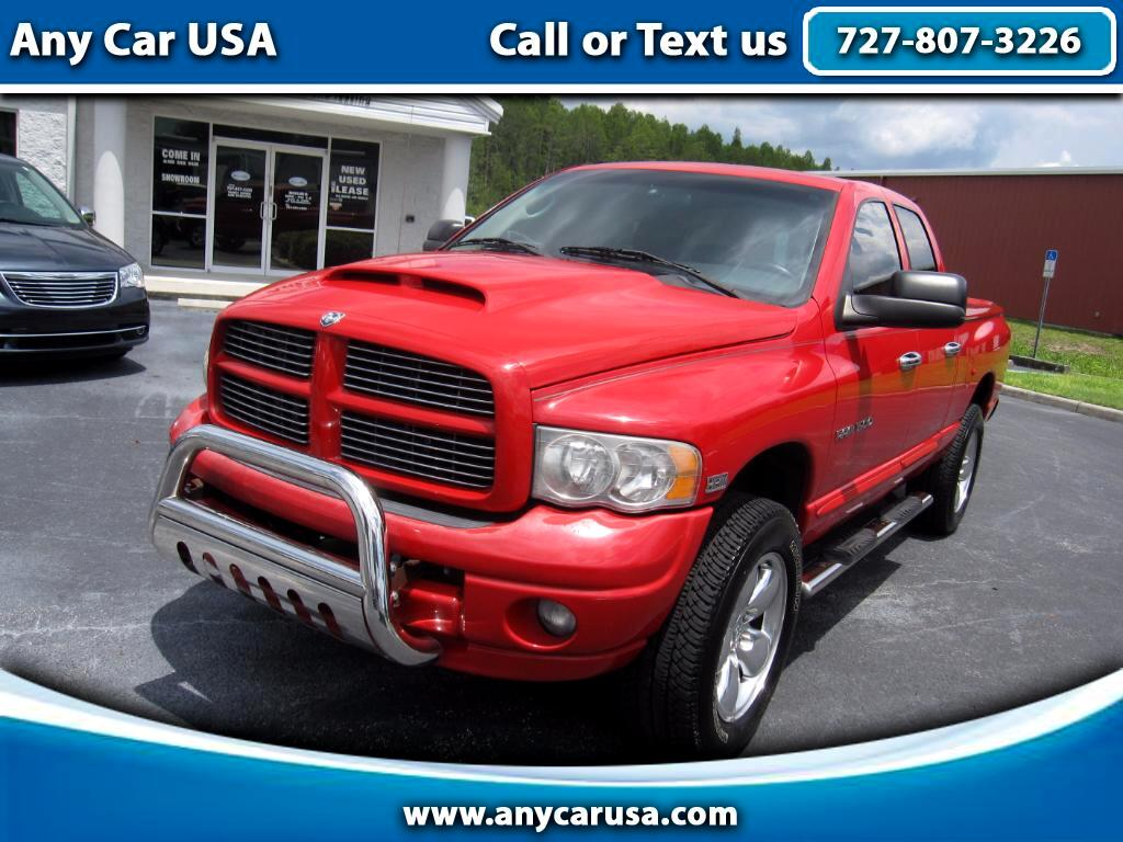2005 Dodge Ram 1500 SLT Quad Cab Long Bed 2WD