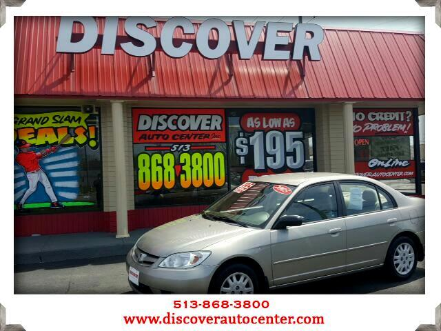 2005 Honda Civic LX Sedan AT