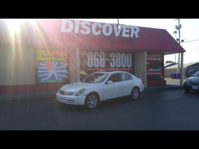 2004 Infiniti G35 Sedan AWD with Leather