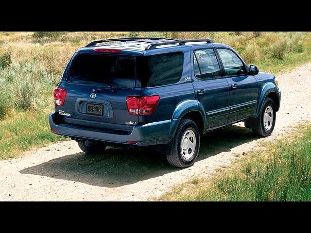 2007 Toyota Sequoia 4WD 4DR LIMITED (GS)