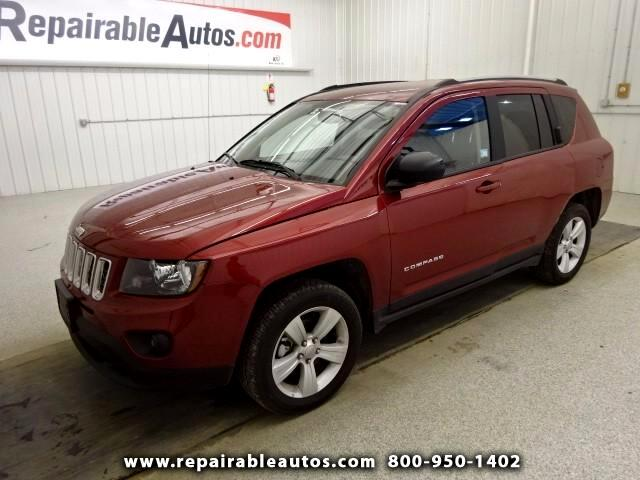 2017 Jeep Compass Sport FWD Repairable Water Damage