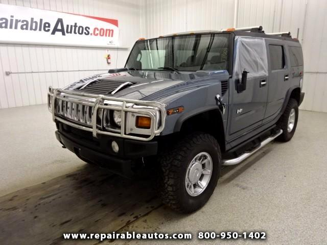 2006 HUMMER H2 4WD Repairable Front & Rt Side Damage