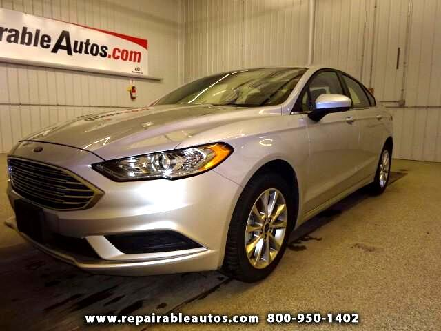 2017 Ford Fusion SE Repairable Rear Damage