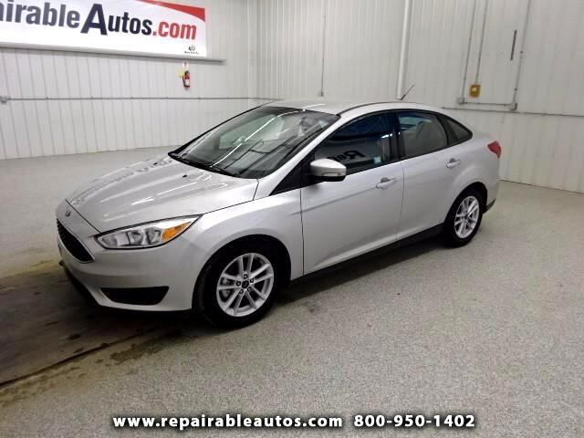 2017 Ford Focus SE Repairable Water Damage