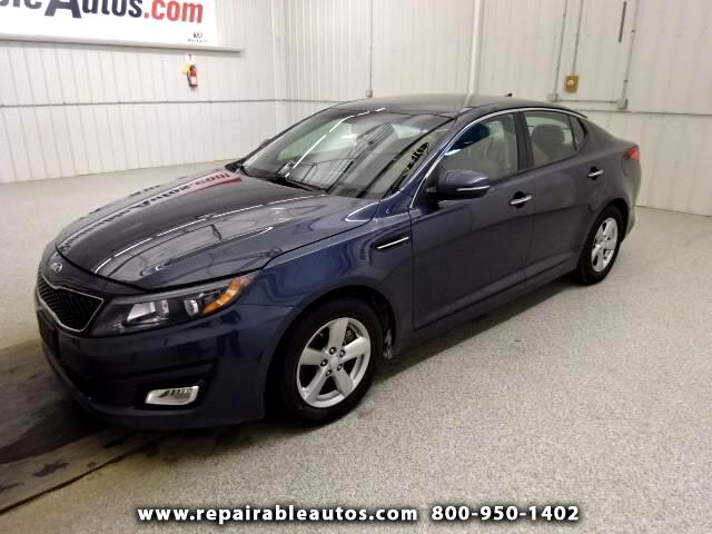 2015 Kia Optima Repairable Water Damage
