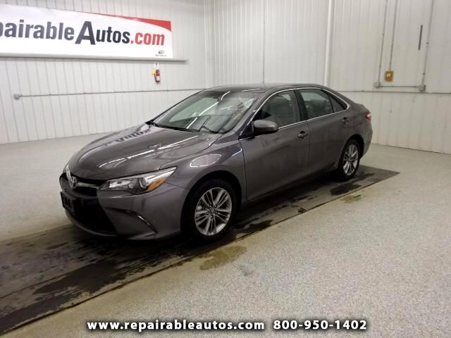 2017 Toyota Camry SE Repairable Water Damage
