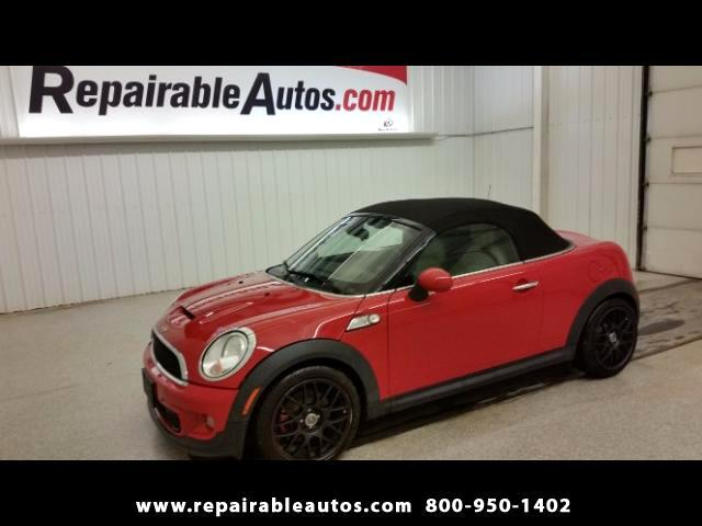 2013 MINI Roadster S Repairable Water Damage
