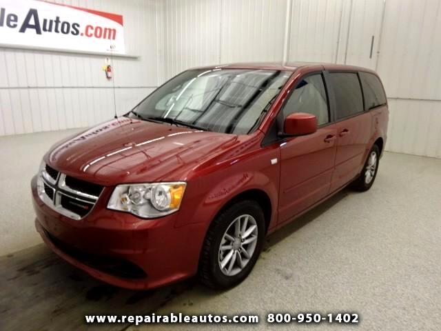 2014 Dodge Grand Caravan Repairable Water Damage