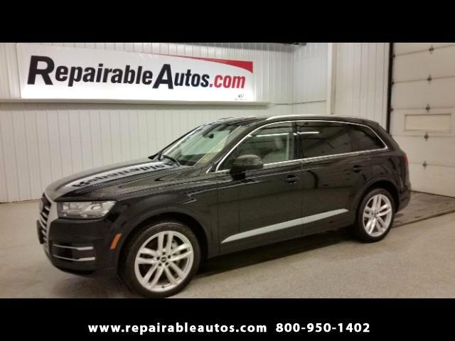 2017 Audi Q7 Quattro AWD Repairable Water Damage