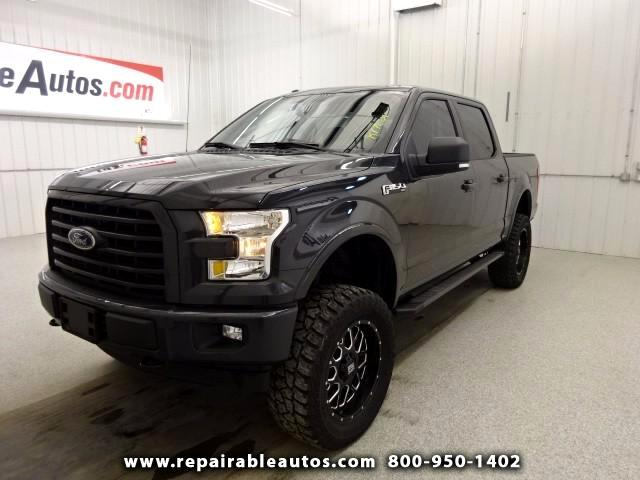 2017 Ford F-150 Repairable Water Damage