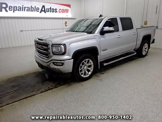 2017 GMC Sierra 1500 SLT Repairable Water Damage