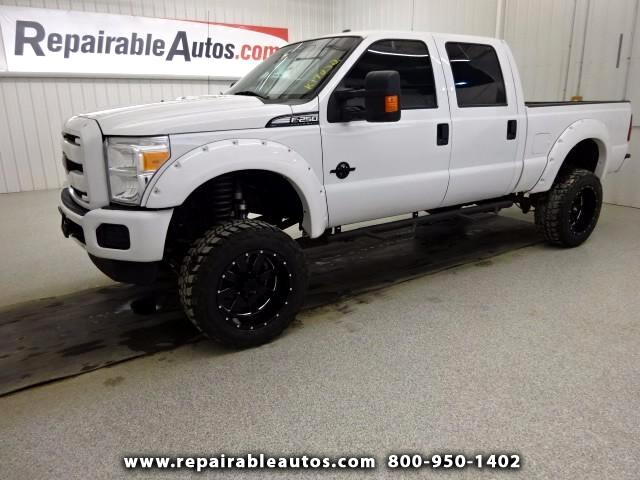 2016 Ford F-250 SD XLT Repairable Water Damage