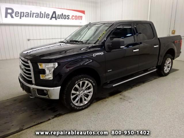 2016 Ford F-150 XLT Repairable Water Damage