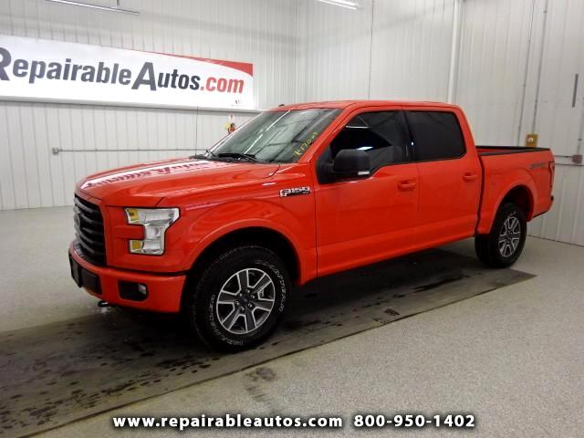 2017 Ford F-150 SPORT 4WD Repairable Water Damage
