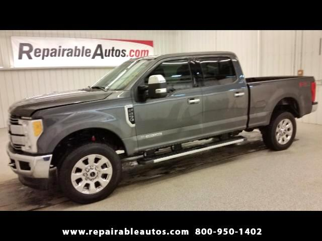 2017 Ford F-250 SD LARIAT Repairable Water Damage