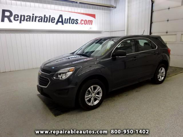 2017 Chevrolet Equinox FWD Repairable Water Damage