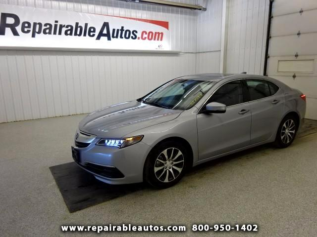 2017 Acura TLX FWD Repairable Water Damage