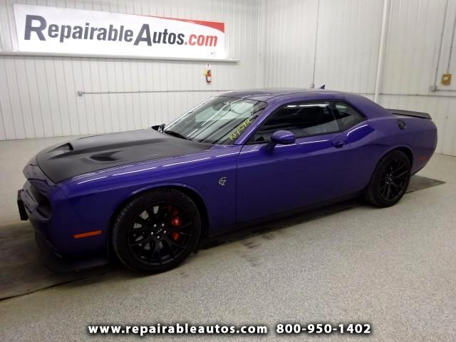 2016 Dodge Challenger SRT Hellcat Repairable Water Damage