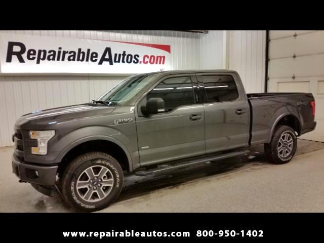 2017 Ford F-150 XLT 4X4 Repairable Water Damage